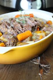 garlic and rosemary crockpot beef roast recipe food apparel