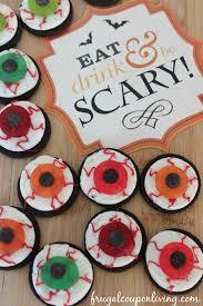 halloween cake sale halloween oreo eyeballs kids food craft