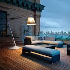 Outdoor Designer Lighting Philippe Starck Outdoor Wicker Lighting By Flos For Dedon