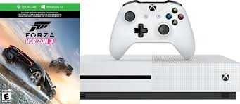 microsoft xbox one s 1tb forza horizon 3 console bundle with 4k