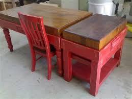butcher block table on wheels butchers block blocks island table trolley australia