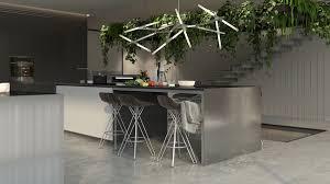 kitchen island design plans dark gray cabinet black polymer waste