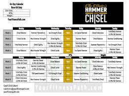 workout schedule template preview and details of template ms