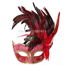 feather mask aliexpress buy new fashion 2017 christmas women half