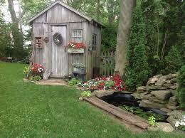 fairytale backyards 30 magical garden sheds gardens backyard