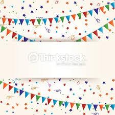 happy birthday ribbon confetti and ribbon banner happy birthday vector thinkstock