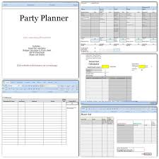 party planner party planner budget headcount play list rsvp
