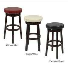 bar stools walmart red metal with back and arms without backs for