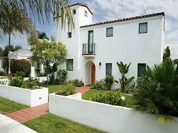 quirky combination exterior house paint color ideas white