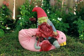 Garden Nome by Zombie Gnomes Lunch Break