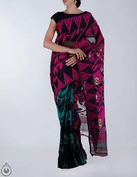 dhaka sarees corporate black dhaka cotton saree for online shopping unm19139