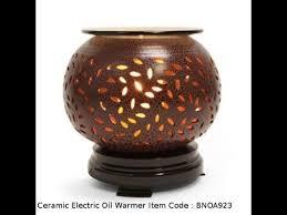 electric oil warmer aroma lamp fragrance tart burner youtube