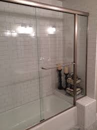 Shower Doors Sacramento Here Is Our Custom Glass Shower Door In Brush Nickel Yelp