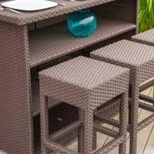 outdoor wicker bar stools foter