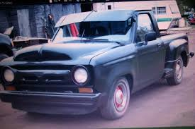 Ford Ranger Lmc Truck - custom built u002756 look a like original body and frame is an early