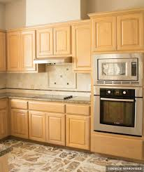 yellow kitchen wood cabinets painting kitchen cabinets before after