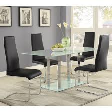 table overwhelming glass dining table six seating glass