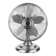 pelonis fan with remote pelonis 12 chrome oscillating retro desk fan ft30 9u3 n fans