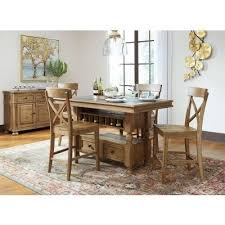 trishley counter height dining room set signature design