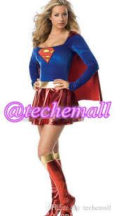 Superman Halloween Costumes Adults Fashion Supergirl Superwomen Superman Superhero