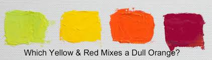 different reds how do you mix orange celebrating color