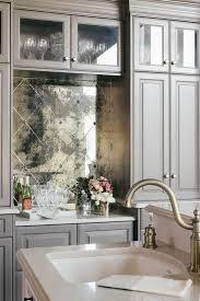 mirrored kitchen backsplash pattern antiqued mirrored backsplash tiles kitchens