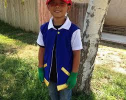 Ash Ketchum Halloween Costume Ash Ketchum Etsy