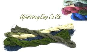 Upholstery Thread Waxed Linen Slipping Thread Skeins Upholsteryshop Co Uk