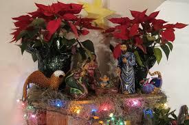 nativity and poinsettias nativity manuel cruz eagle luis