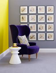 Aubergine Armchair Mimosa And Cassis Ding Dong Home Shopping Spy