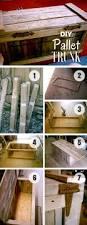 diy pallet trunk pallet wood pallets and tutorials