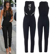 jumpsuit and rompers jumpsuit rompers splicing jumpsuit overall sleeveless
