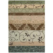Area Rugs 6 X 10 Nourison Earth Treasures Sage 8 Ft X 10 Ft 6 In Area Rug 002181