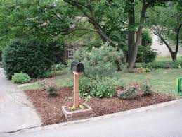 Mailbox Flower Bed Mailbox Landscaping Ideas Plants Simple Mailbox Landscaping