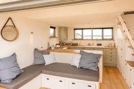 Small Boat Interior Design Ideas Mudeford Beach Hut Interior Small Space Living Pinterest