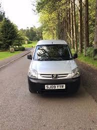 peugeot pay monthly cars peugeot partner diesel car derived van 2009 sale finance