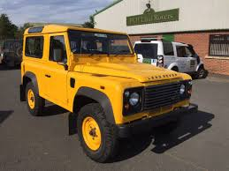 land rover yellow 2009 land rover defender 90 station wagon 2 4tdci pvh land rovers