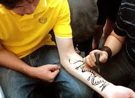henna dragon by xagros on deviantart