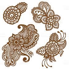 mehndi design patterns stock vector art 607977520 istock