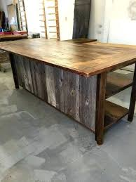 reclaimed kitchen island stunning reclaimed wood kitchen island reclaimed wood island