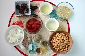 vegan couscous and dates dinner recipe