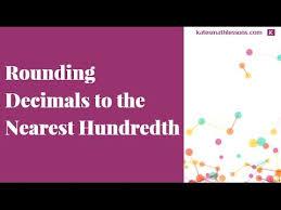 the 25 best round to nearest hundredth ideas on pinterest math