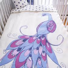 Organic Baby Bedding Sets by Peacock Crib Bedding Set Organic Cotton Baby Bedding Edelekids