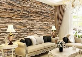Wallpaper Interior Design by Fascinating 3d Wallpaper Ideas To Adorn Your Living Room