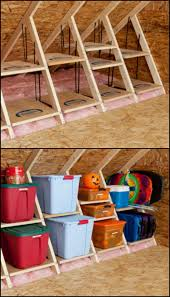 clever attic storage ideas there are always things that need to be