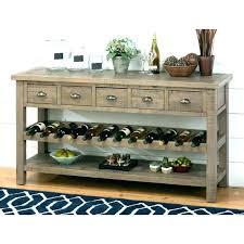 sofa table with wine rack sofa table with wine storage lauermarine com