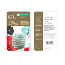 eos holiday 2017 limited edition peppermint mocha walmart com