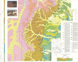 Map Of Utah Parks by Wildly Colorful Geologic Maps Of National Parks And How To Read
