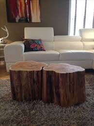 Tree Stump Side Table Tree Stump Coffee Table Awesome At Best 25 Tree Trunk Table Ideas