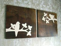 wooden bird wall decor metal bird wall decor large metal wood tree